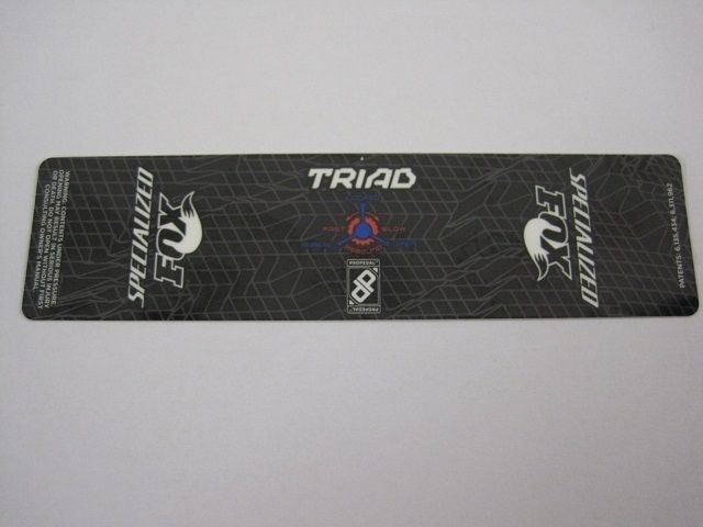 Decal: 2012 TRIAD