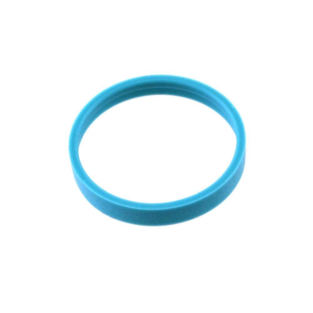 Bearing: External (0.136 W X 1.072 OD X 0.031TH, Ø 1.070 Bore) Turcon, Blue, Ring