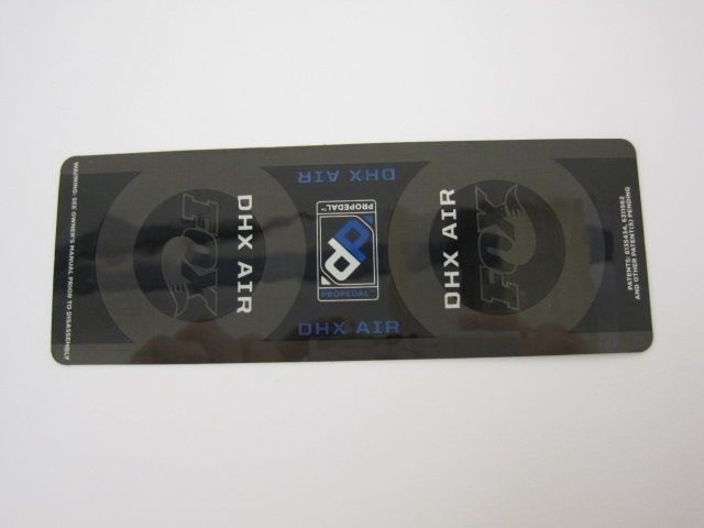 Decal: 2010, 09 DHX Air, Standard Sleeve