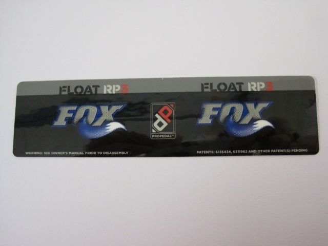 Decal: 07, 08 FLOAT RP3 6.5+