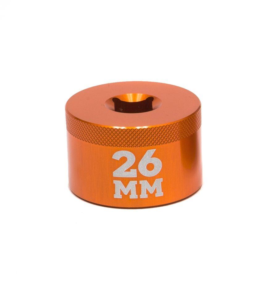 2017 Tooling: Fork Topcap Socket 26mm 3/8 Drive