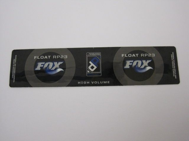 Decal: 2010, 09 FLOAT RP23 XV