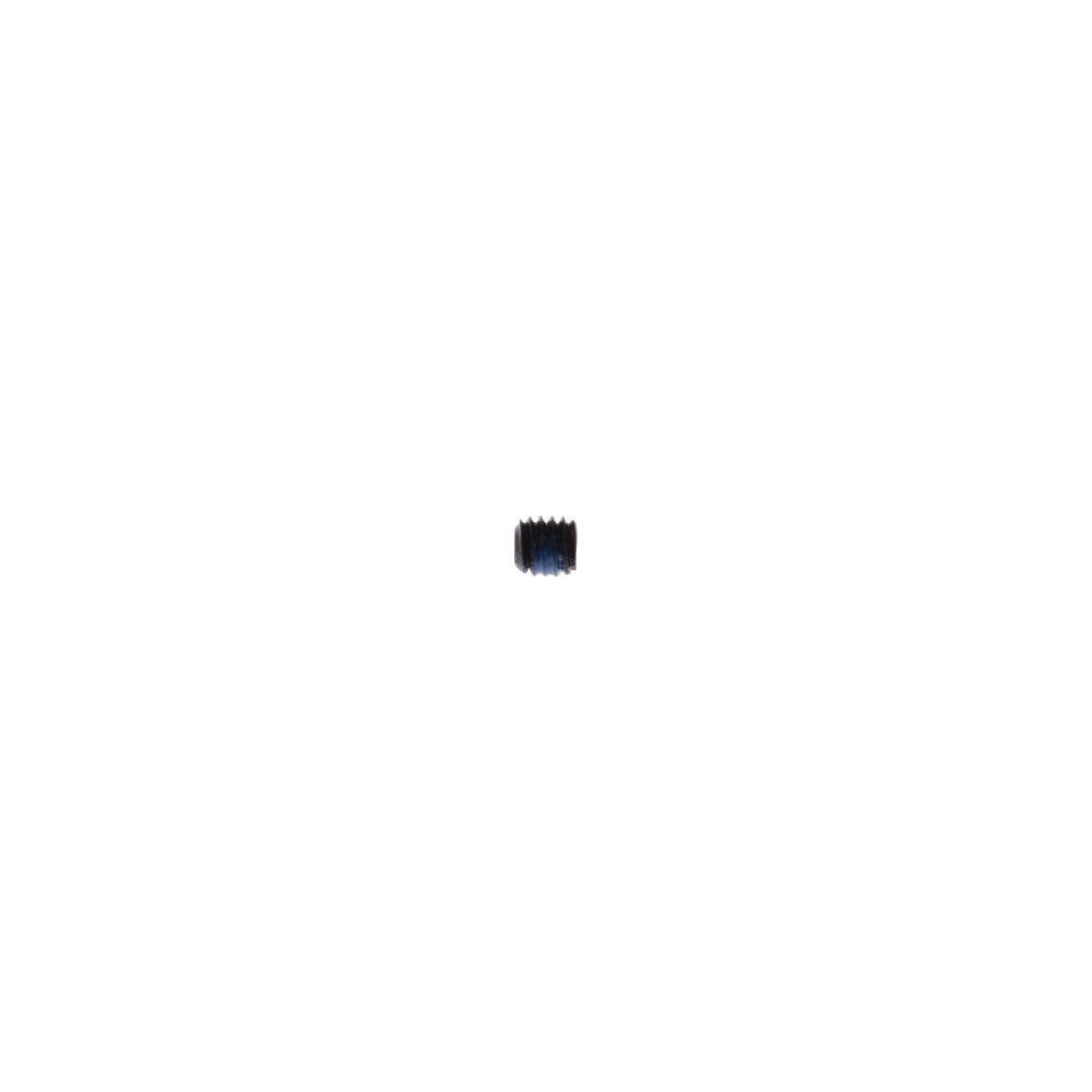 Fastener: Metric Set Screw (M4 x .7mm x 4mm) Flat Point, Torx, Black, Patchlock