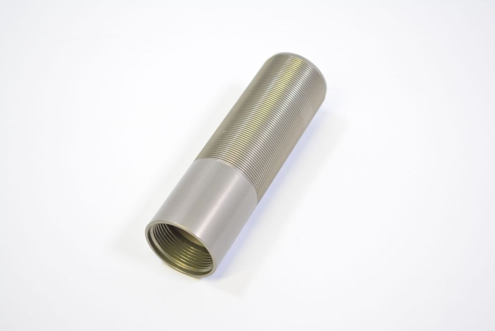 Body: (T) Ø 1.070 Bore X 1.250-24 OD X 4.655 TLG Al 6061 Clear Ano III Std Thread OD