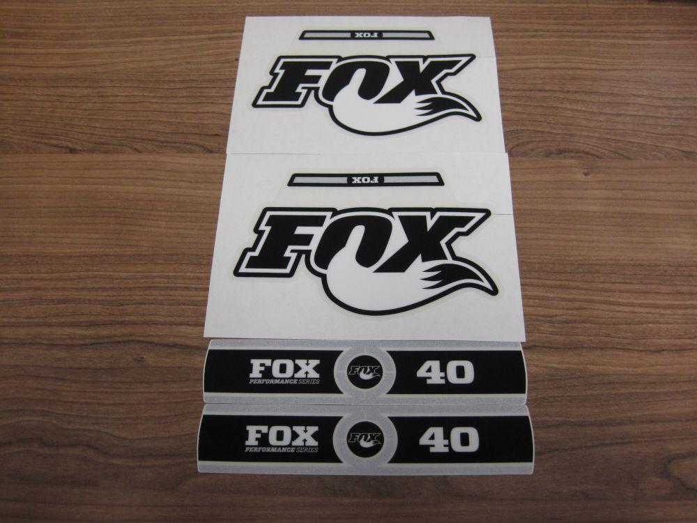 Decal Kit: 2014 40 B/W Logo Performance Series