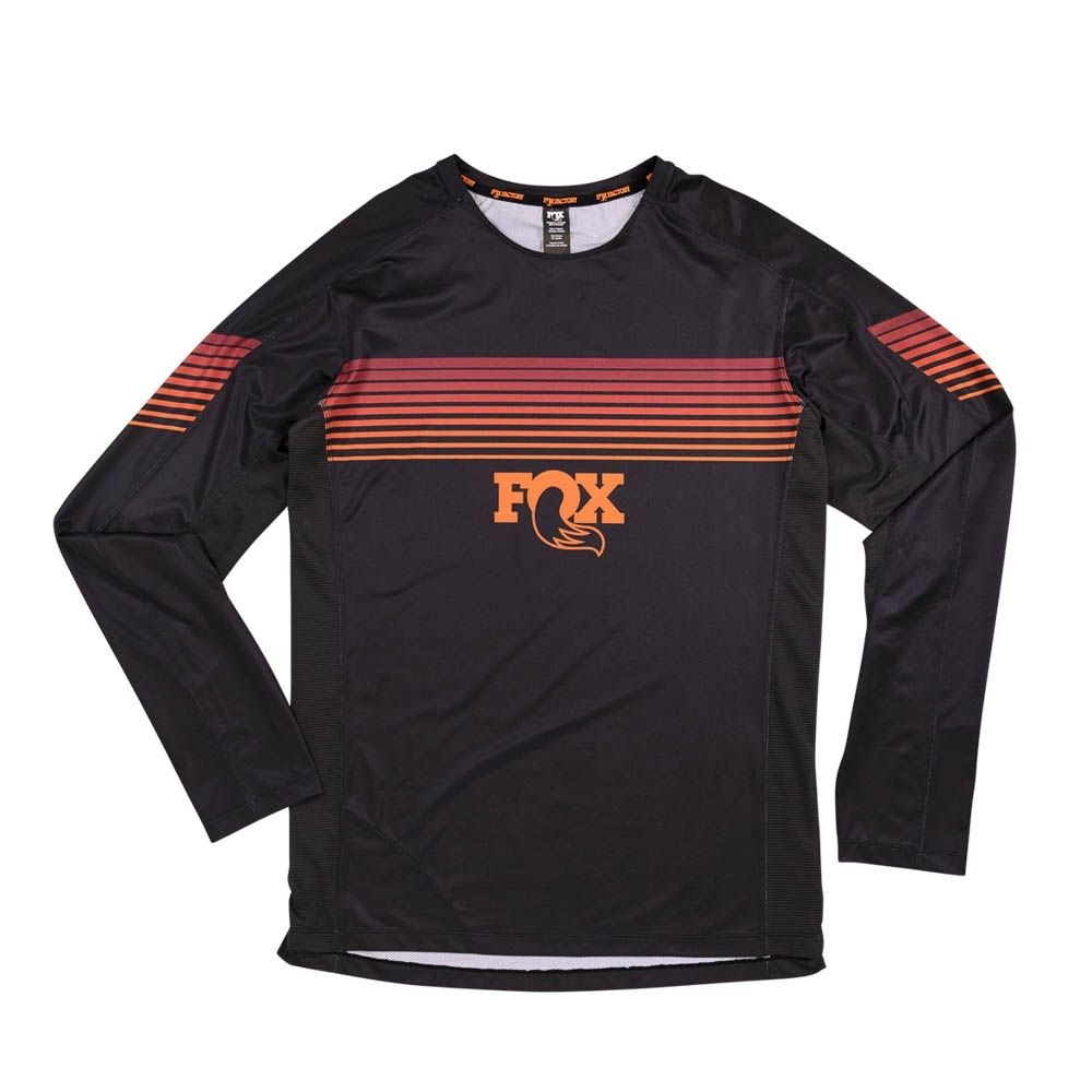 Fox High Tail LS Jersey Black