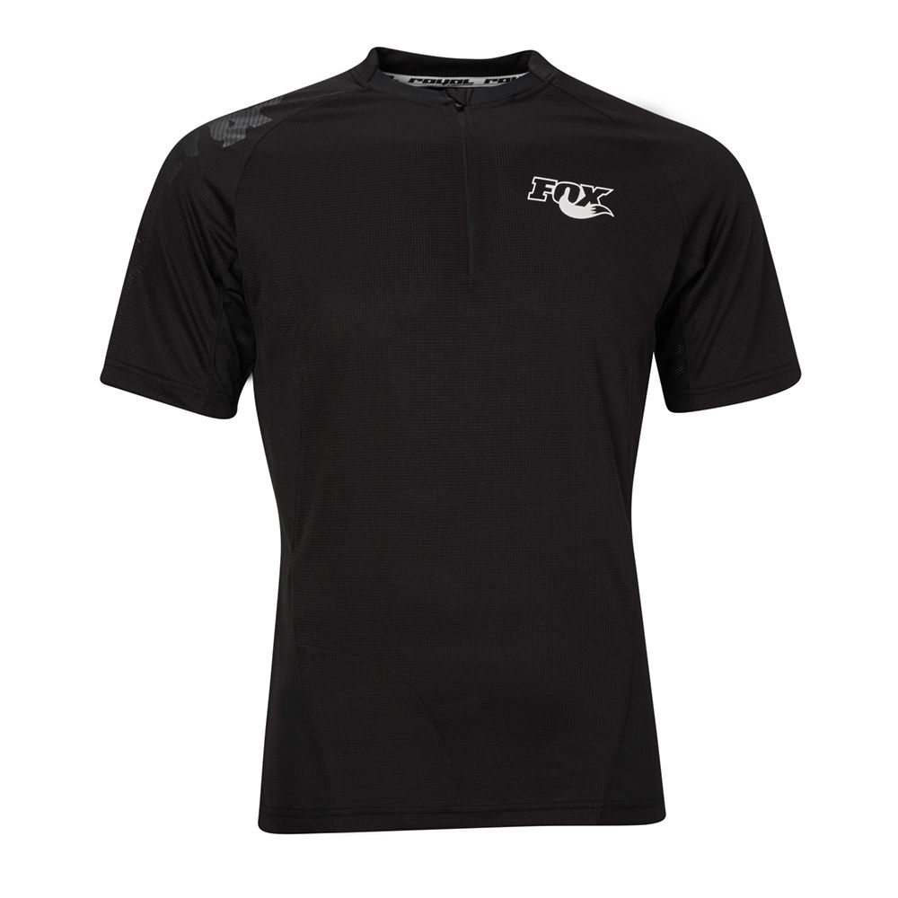 Race Short Sleeve Jersey, Black, versch. Grössen