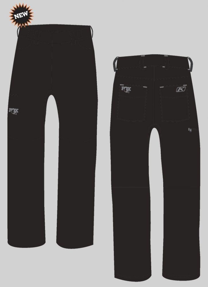 2017, FOX Transition Pant, Black/Grey, versch. Grössen