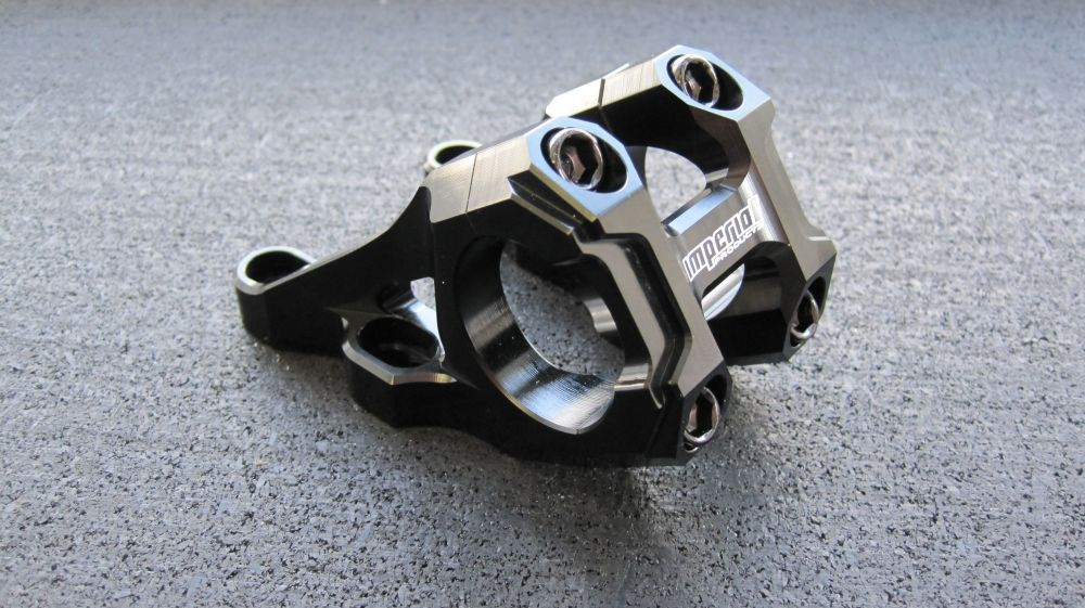 IMPERIAL Boxxer Stem Black anodized