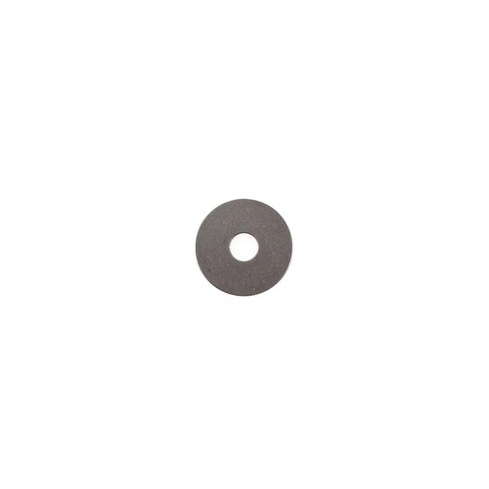Plate: Back-Up .900 OD X .252 ID X .050 TH Ø .500 Shaft Steel