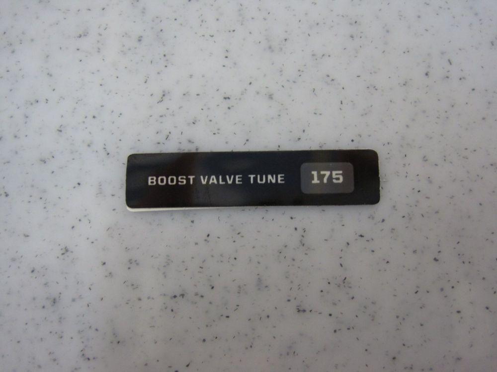 Decal: Boost Valve Tune 175