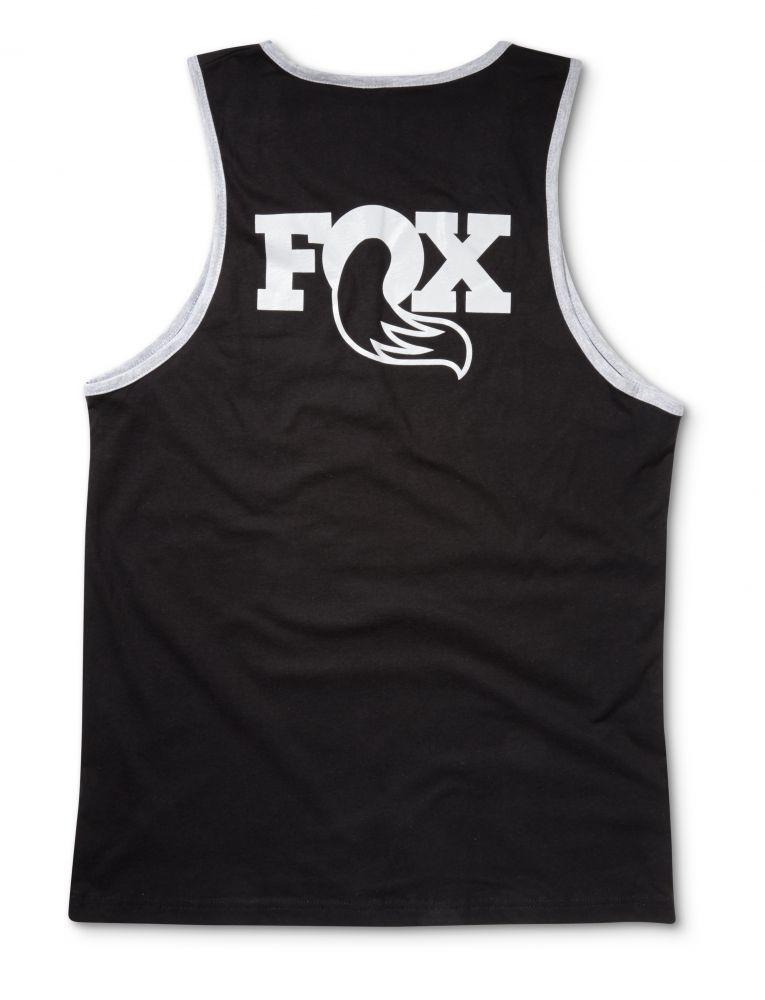 2016 FOX Men''s Heritage Tank 100% Cotton Black/Grey S