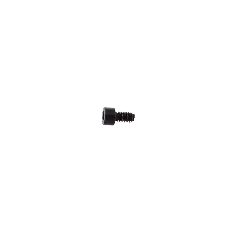 2019 Fastener Custom Screw 6-32x0.250 2.5mm Drive 0.400TLG Steel Black Zinc SHCS