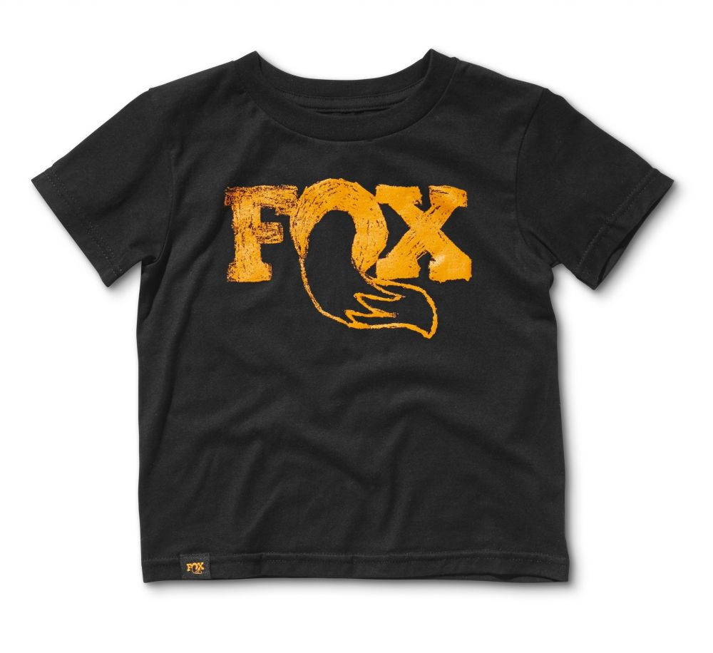 2017, FOX Grom 2.0 Tee, 100% Combed Cotton, Black, Size 5/6
