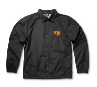 FOX Windbreaker Jacket Black/Orange