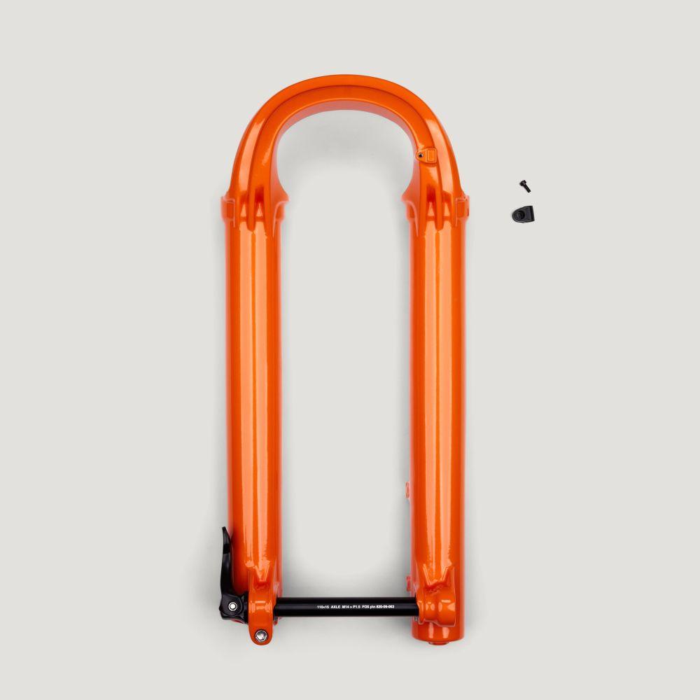 Service Set: 2021 Fox 36 27.5in 130-170 15x110 QR F-S PE-S Shiny Orange Lower Leg Assy