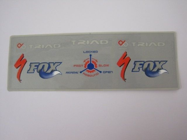 Decal: 08 FLOAT TRIAD II, Large, Vertical
