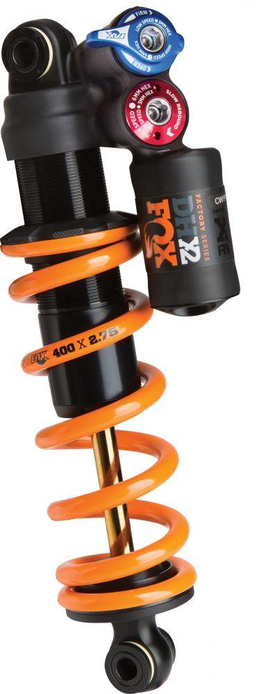 2019 DHX2 F-S TiN 2pos-Adj FOX AM 200-57 | 7.875-2.250 CM Orange Logo