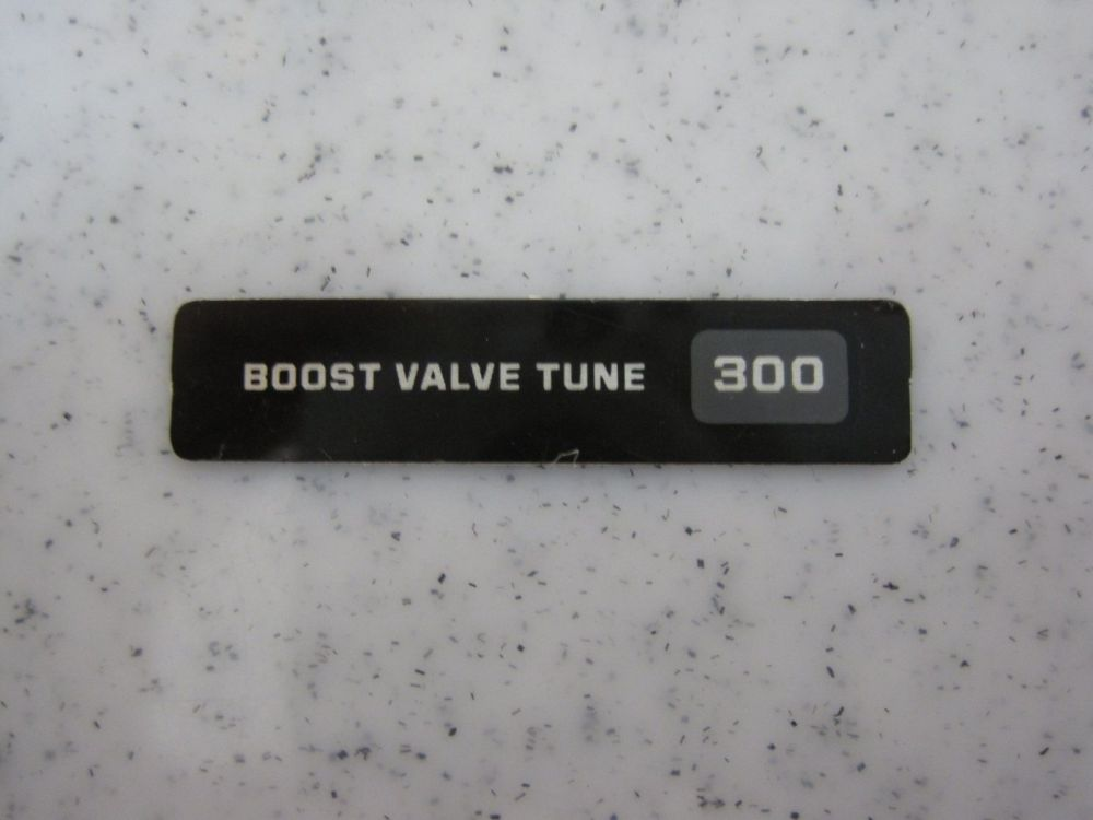 Decal: Boost Valve Tune 300