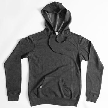 Women''s Track Pullover, 60/40 Cotton/Poly, Charcoal Hthr, L