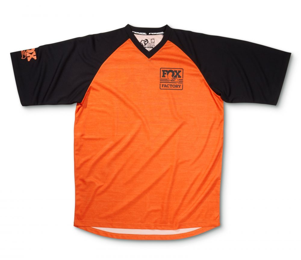 2016 FOX Heritage Raglan SS Jersey Orange/Black M