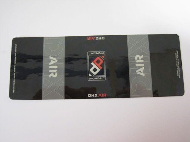 Decal: 07, 08 DHX Air XV 8.5+