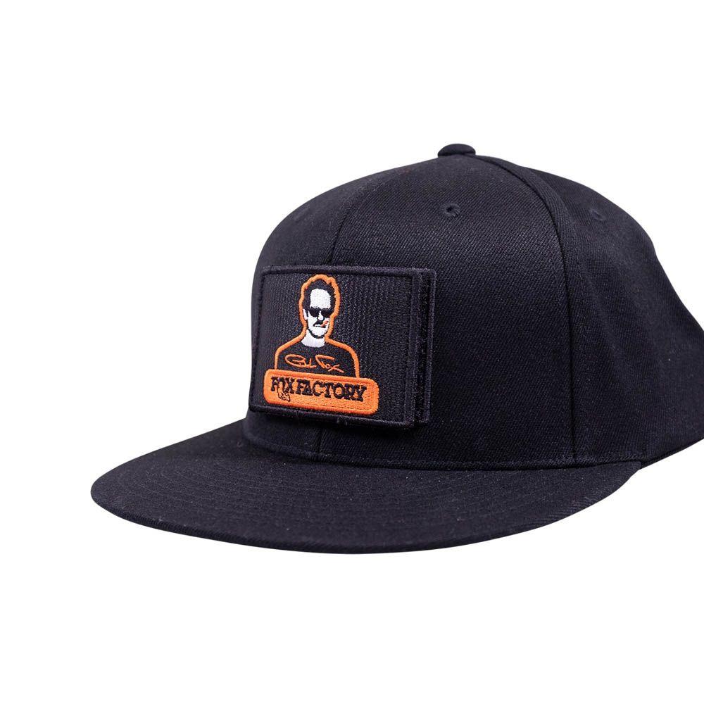FOX Velcro Patch Snapback Hat-Black O/S