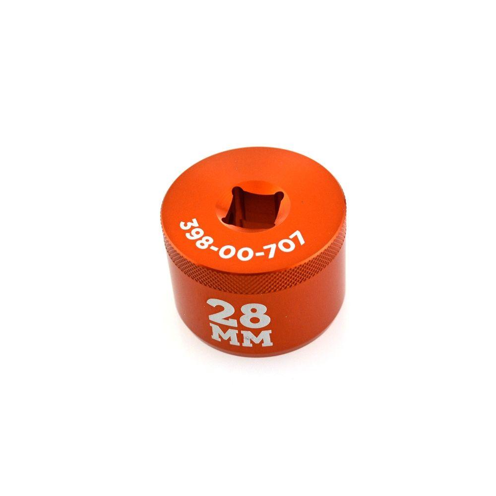 Tooling: Fork Topcap Socket 28mm V2 3/8 Drive