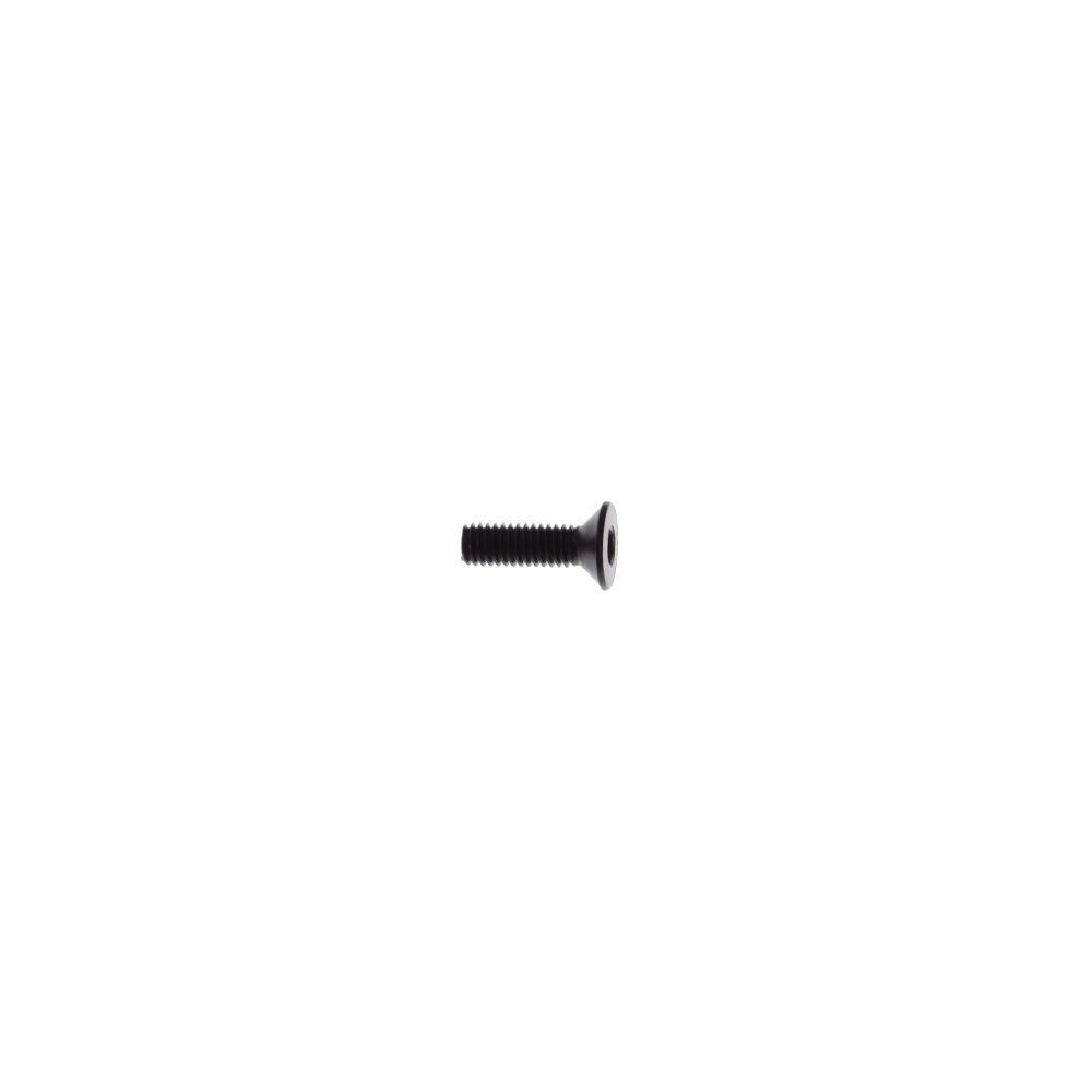 Fastener Standard (Metric) Flat-Head Socket Cap Screw M3 Size 10mm Length .50mm Pitch