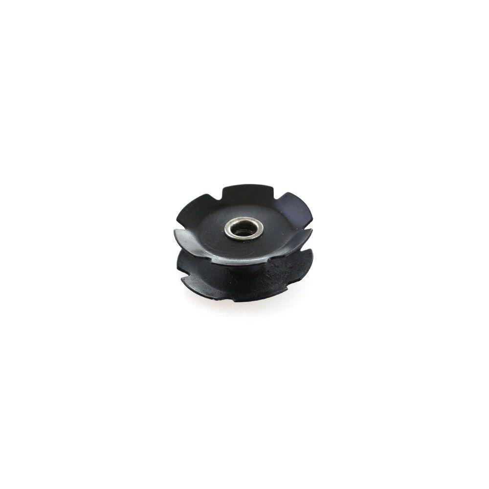 """Fastener Custom (Metric): Nut Star Fangled M6 X 1.0 THD 1.5"""" Steerer"""