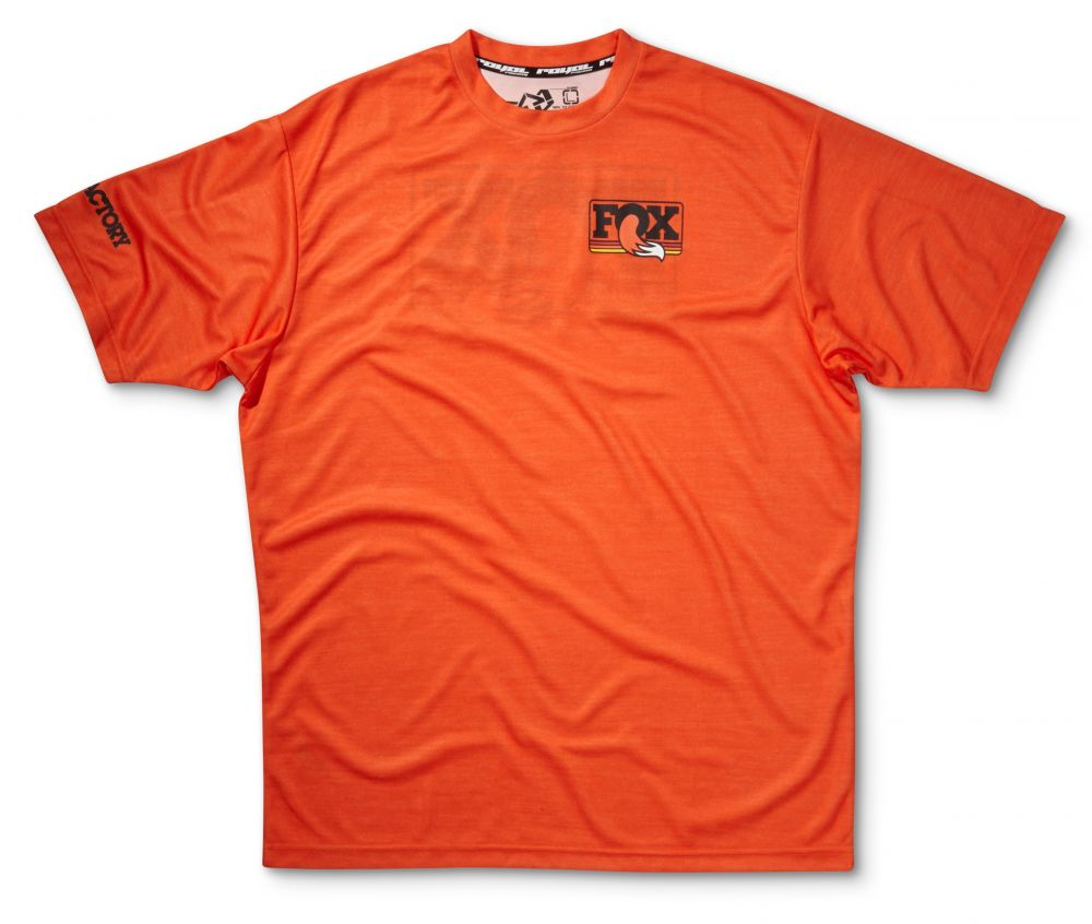 2016 FOX Heritage Ride SS Jersey Orange Heather S