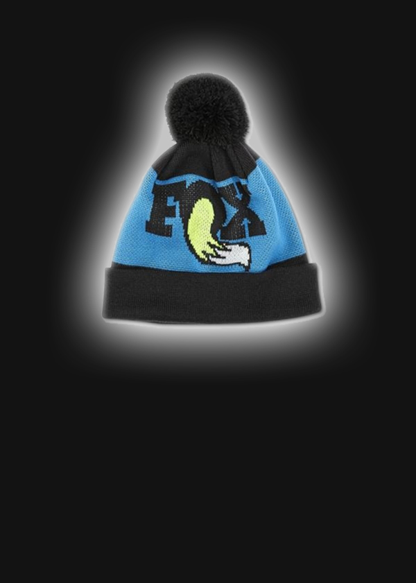 2017, FOX Heritage Beanie 2.0, Black/Blue/Yellow O/S