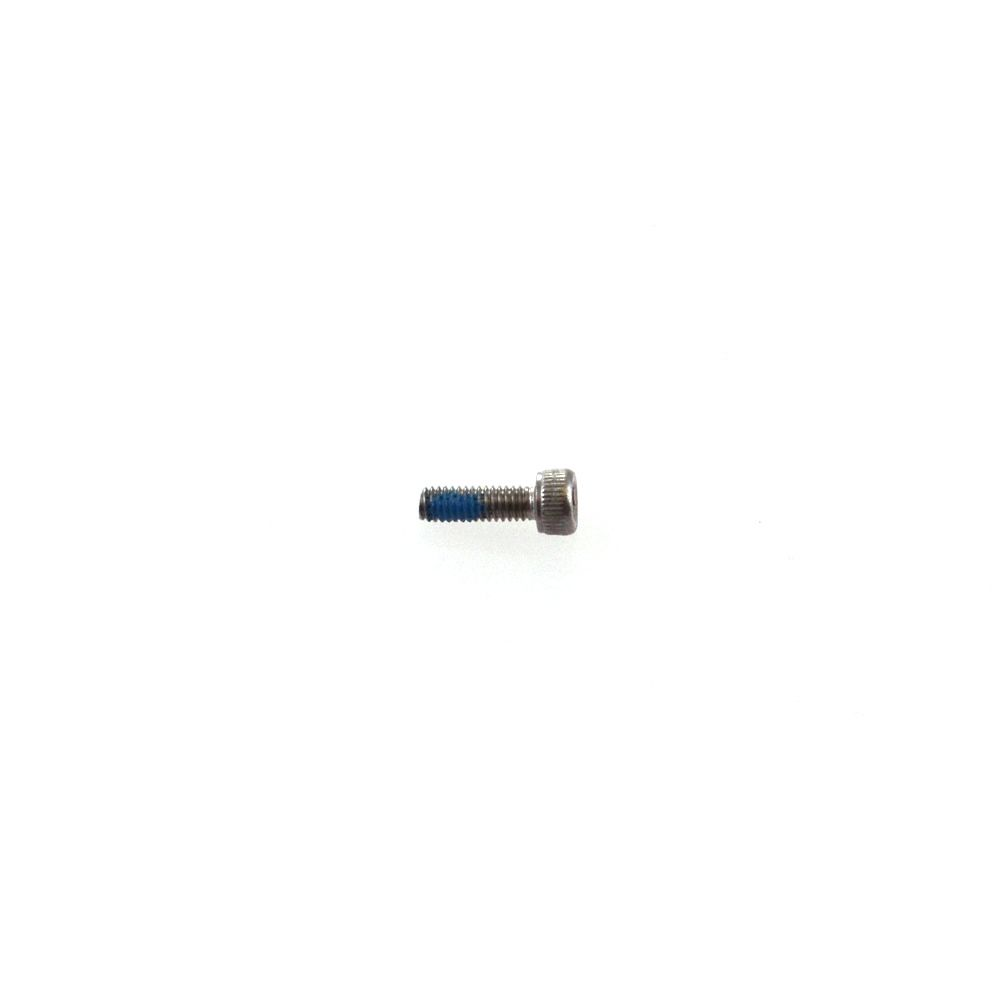 Fastener, Standard (Metric): Screw (M 2,5 x 8 mm) Socket Head Cap, Alloy Steel, W/Nylok, black