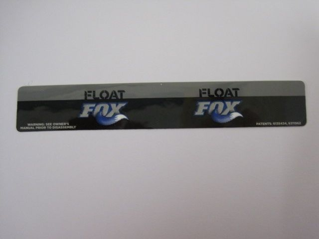 Decal: 07, 08 FLOAT 5.5, 6.0