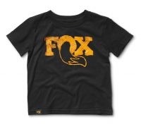 FOX Grom 2.0 Tee 100% Combed Cotton Black