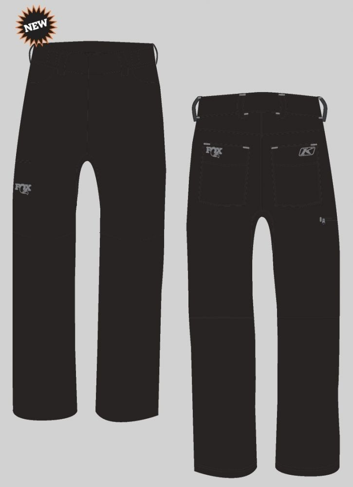 FOX Transition Pant, Black/Grey, versch. Grössen