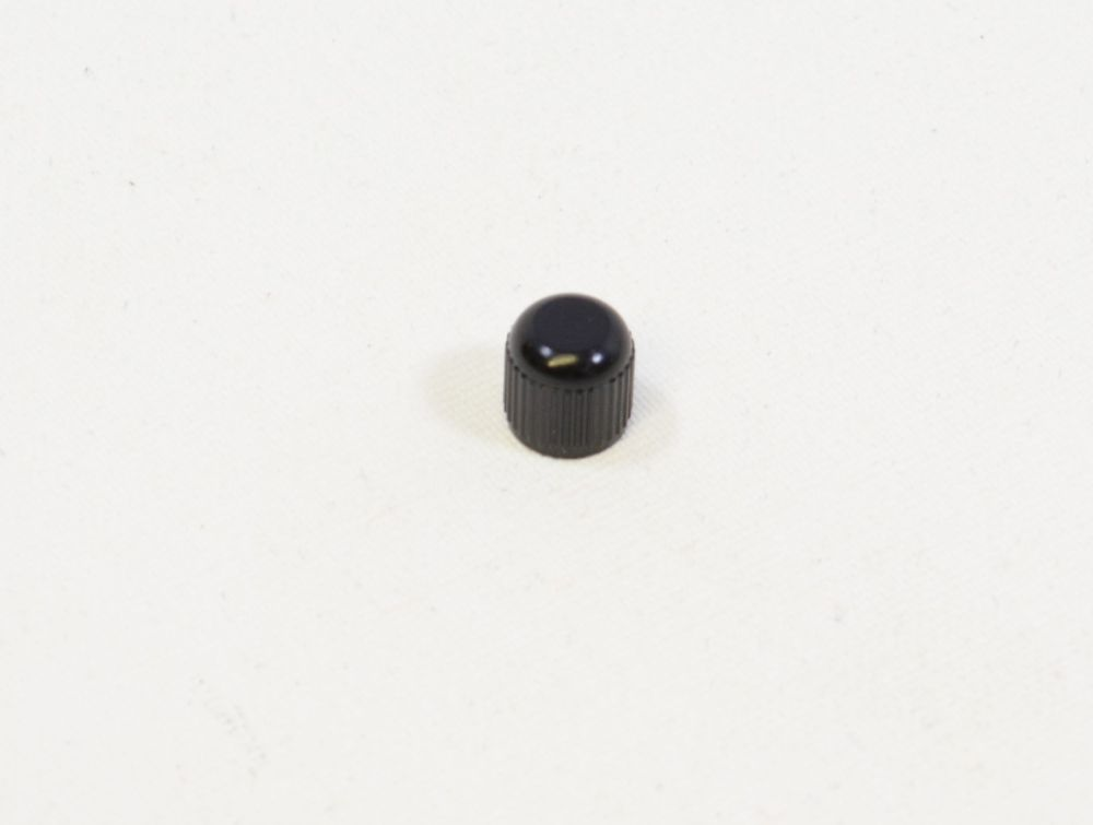 Air Valve Parts: Cap Air Valve (.305-32) Black 6061 (VE 10 Stück)