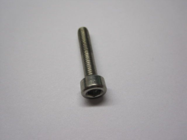 Fastener Standard (Metric): Screw (M3 X 16mm) SHCS Patchlock