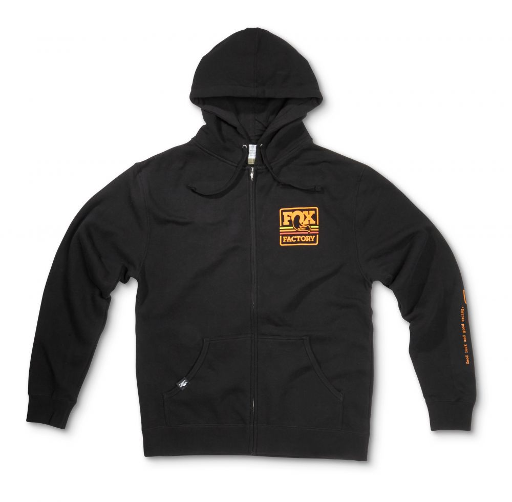 2016 FOX Heritage Lightweight Hoody 60% Cotton/40% Poly Black M