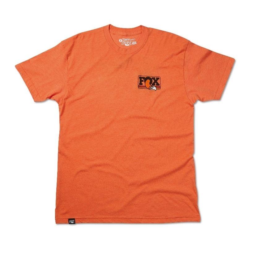 FOX Men''s Heritage Crew Neck Tee  50% Cotton/50% Poly  Heather Orange , versch. Grössen
