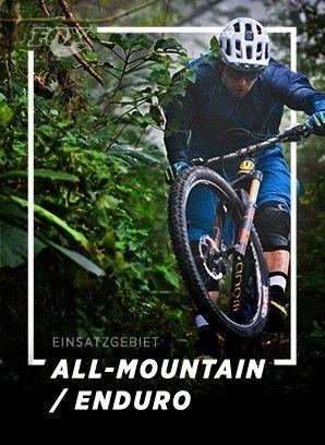 Einsatzgebiete für All-Mountain und Enduro ansehen