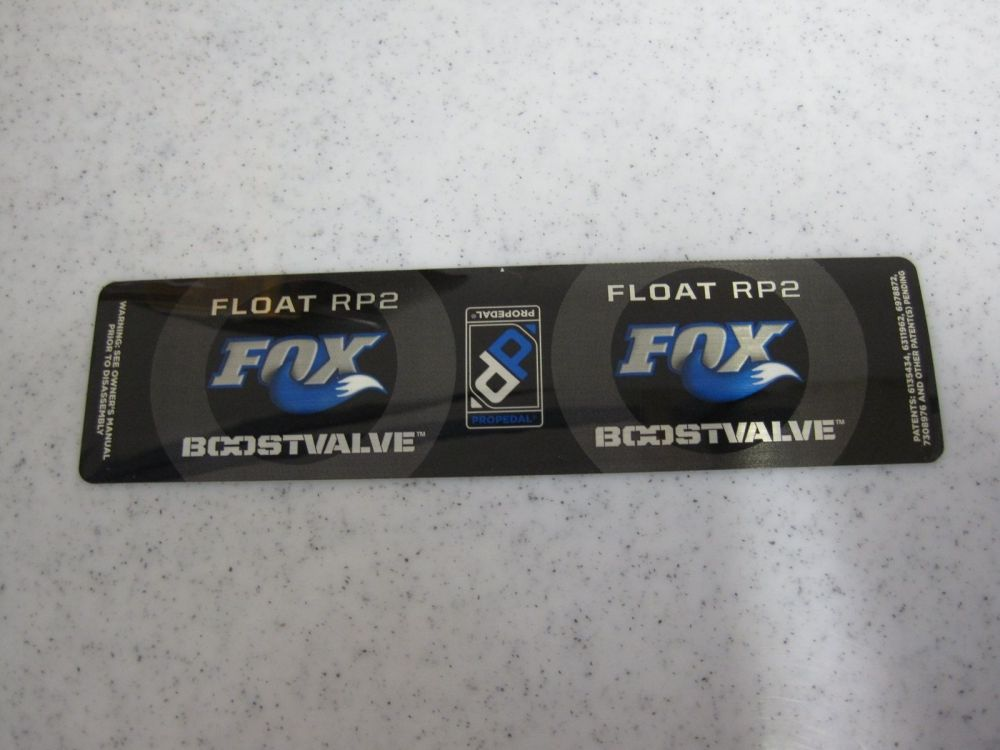 Decal: 2010 FLOAT Boost Valve RP2 6.5+