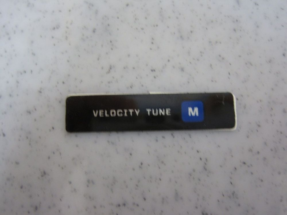 Decal: Velocity Tune Medium