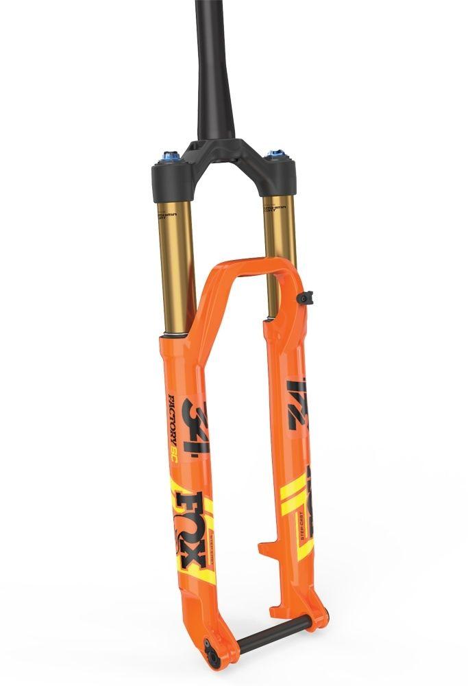 2019 34 K FLOAT SC 29in F-S 120 FIT4 3Pos-Adj Shiny Orange BLK/Yellow Logo Kabolt 110 BLK 1.5 T 51mm Rake Matte Blk AM
