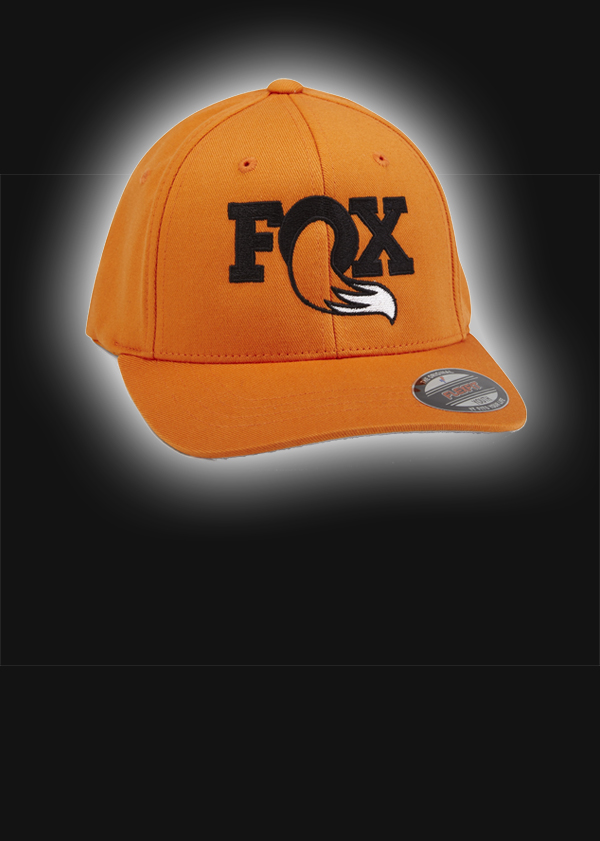 "2017, FOX Youth Heritage Hat, Orange, 6 1/2"" - 7""; 63% Poly/34% Cotton/3% Spandex"