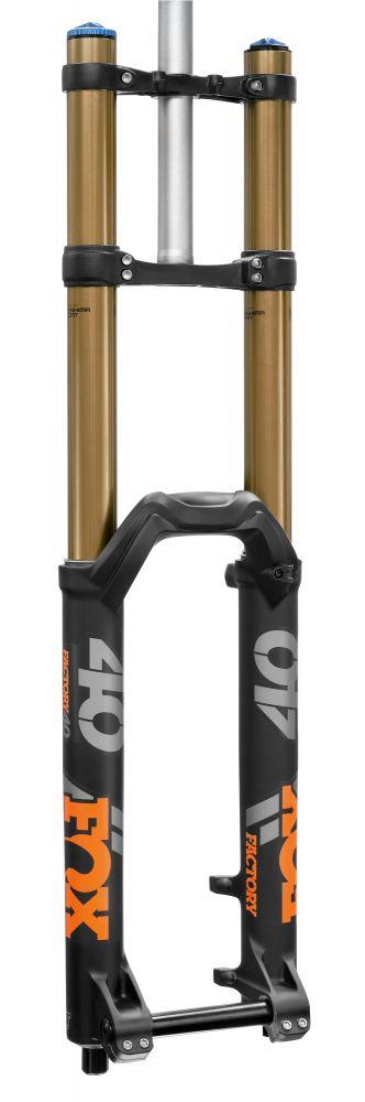 2018 40 K FLOAT 26in F-S 203 HSC LSC FIT Matte Blk Orange Logo 20TAx110 1.125 Flat 45mm Rake AM