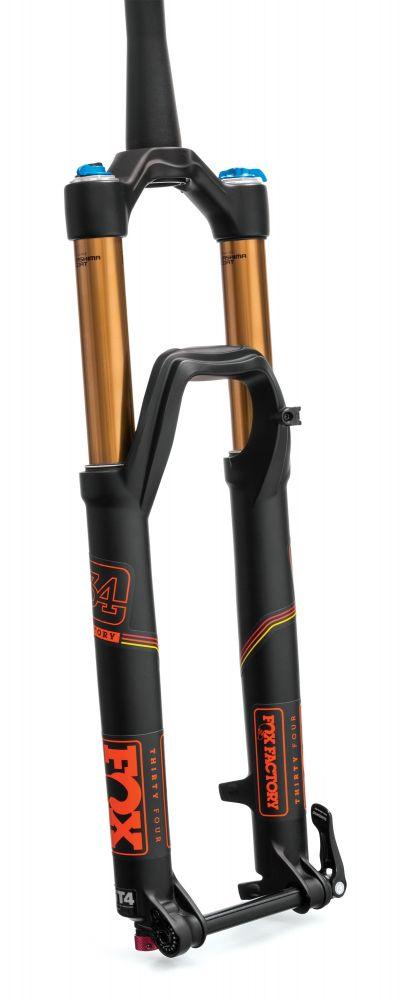 2017 34 K FLOAT 27.5in FS 150 3PosAdj FIT4 Matte Blk Orange Logo 15QRx100 1.5 T 44mm Rake AM