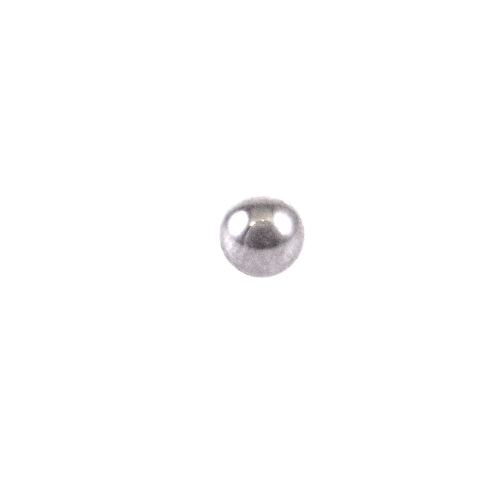 Damping Adjust Part: Ball ( Dia 1.5MM) 52100 Grad 25 Steel Chrome Plated
