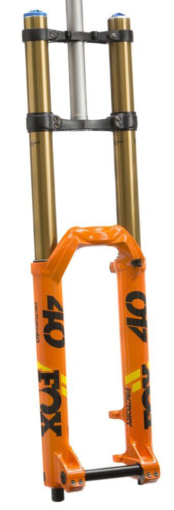 40 K Float 27,5in F-S 203 HSC LSC Fit Orange BLK/Yellow Logo 20mm 1.125 Flat 52mm Rake AM