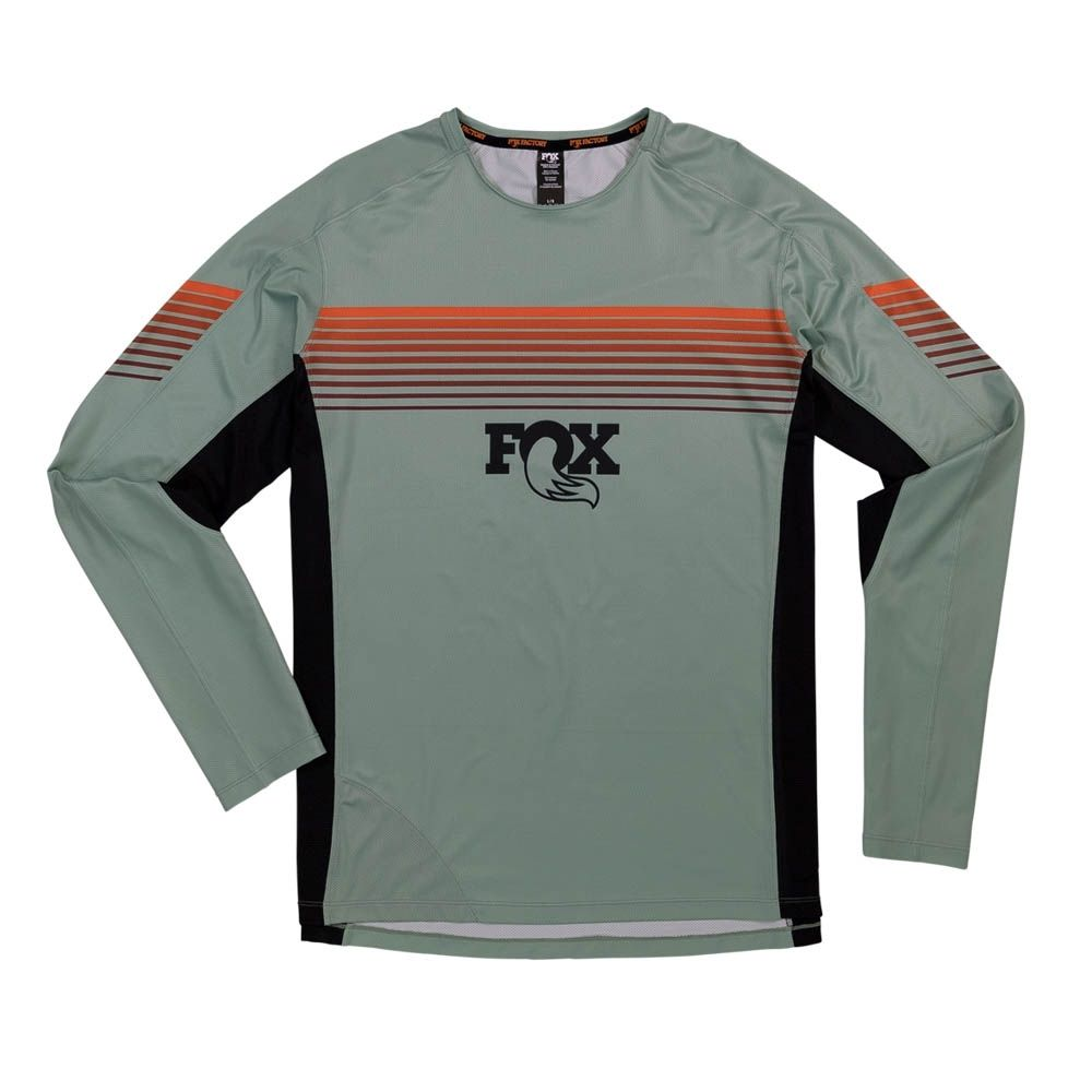 Fox High Tail LS Jersey-Pistachio-XXL